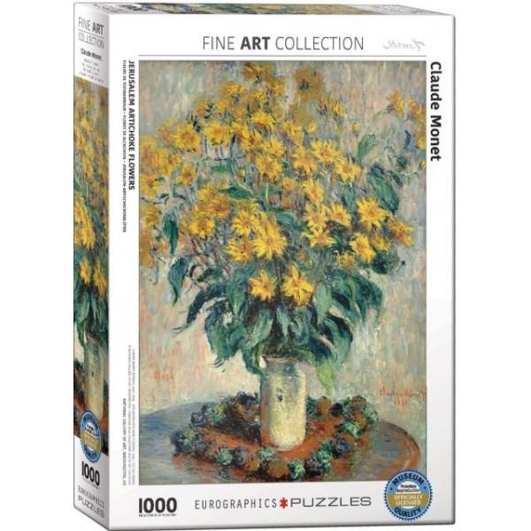 Kwiat Jerozolimy,  Claude Monet, 1000el.(Smart Cut Technology)  - Sklep Art Puzzle